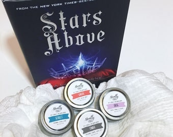 The Lunar Chronicles Collection | 2oz soy candles, set of four
