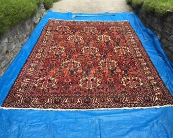 "10' 3"" x 7' 6"" Persian Garden Style Bakhtiari.  C32"