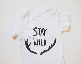 Baby Bodysuit- Stay Wild