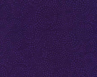 Violet Purple Pop Dots Blender Fabric by Timeless Treasures By The Half Yard 100% Cotton, Polka Dot Geometric