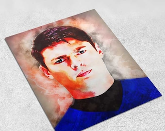 McCoy – Star Trek Art Print Digital Painting INSTANT DOWNLOAD 8x10 inches - Wall Decor, Inspirational Print, Home Decor, Gift