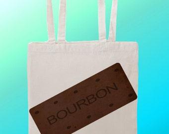Bourbon Biscuit - Reuseable Shopping Cotton Canvas Tote Bag