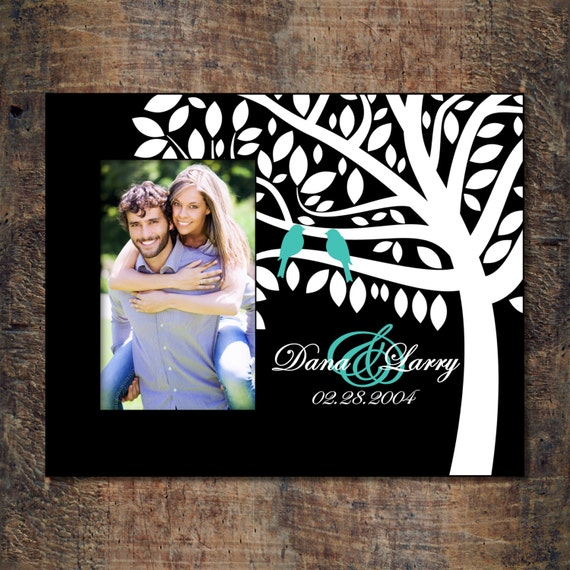 Wallverbs Family Tree Personalized Picture Frame Set: Personalized Picture Frame Family Tree Family By