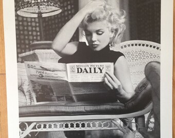 Marilyn Monroe Daily News 16 X 20 POSTER