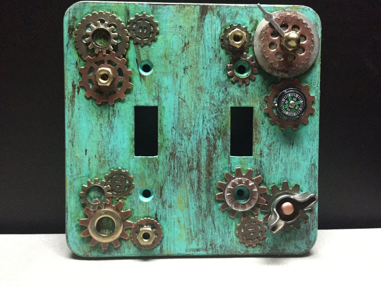 Steampunk Light Switch Plate Cover By Somewhattimeless On Etsy