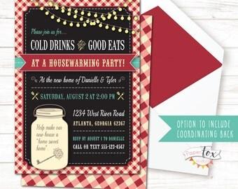 Housewarming invitation / Housewarming BBQ / Housewarming party invitation / House warming invitation / Housewarming Invite / PRINTABLE