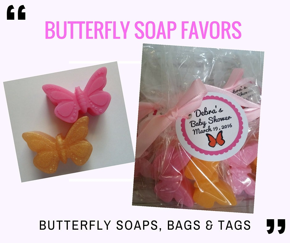 Butterfly Soap Party Favor Wedding Favor Bridal Shower Party