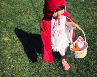 Little Red Riding Hood Costume - Baby Halloween Costume - Toddler Halloween Costume - Kid's Costume