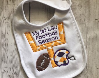 Football Bib - LSU