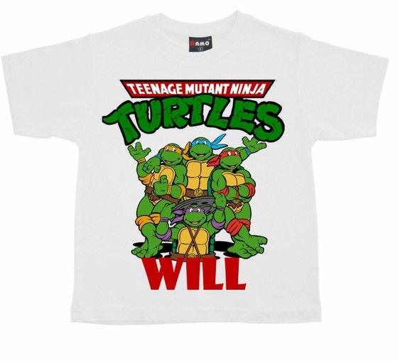 Personalized Ninja Turtles T Shirt By Personalizedperfecti