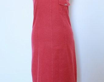 Dress long lin 90s