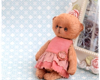 NOT FOR SALE! Sold! Teddy bear girl in a dre