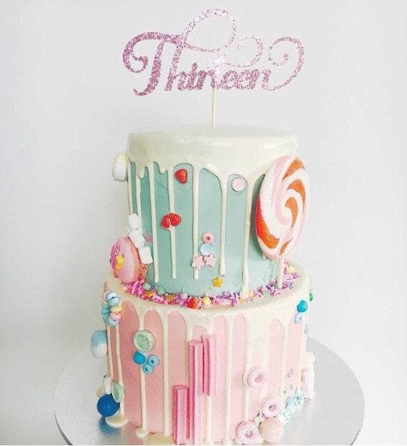 Milestone Age Cake Topper | Thirteen Cake Topper | Twentyone Cake Topper | Sixteen Cake Topper | Eighteen Cake Topper