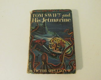 Tom Swift and His Jetmarine by Victor Appleton II Vintage 1954 Hardcover Book
