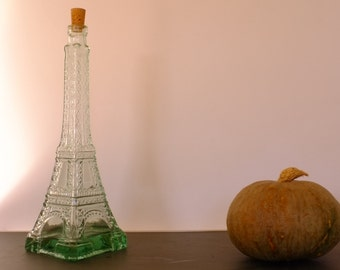 bottle Eiffel Tower Paris, France, collection