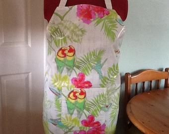 Oilcloth apron
