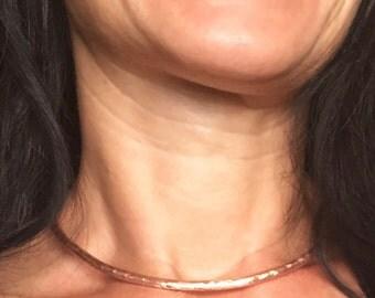 Choker, Copper choker necklace, copper jewelry, choker collar necklace, copper choker, copper necklace, boho necklace, copper