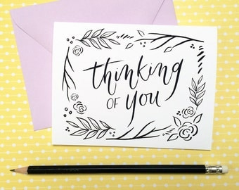 Thinking of You Card, Sympathy Greeting Card
