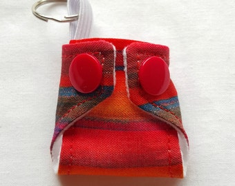 Cloth Nappy/Diaper Keychain