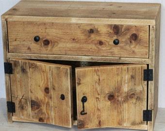 Reclaimed Wood Farmhouse Sideboard / Cabinet