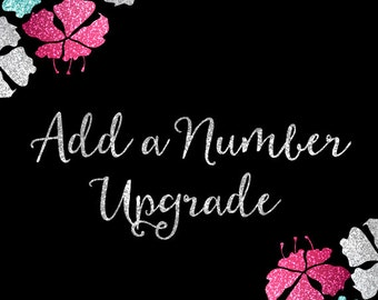 Add a Number to the Back of Your Shirt