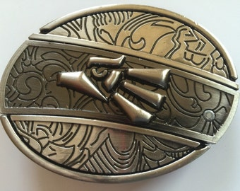 Broncos Belt Buckle with Knife included