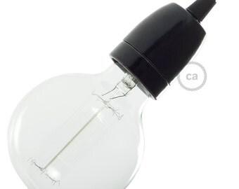 Porcelain Socket Kit - Black