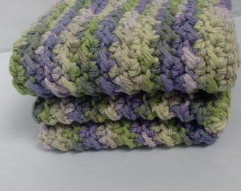 100% Cotton Crochet Washcloth