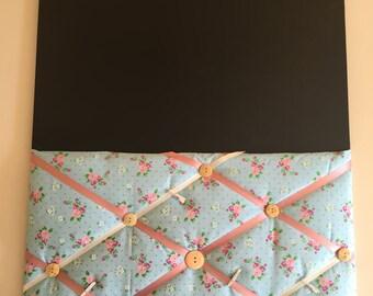 Fabric noticeboards/blackboard