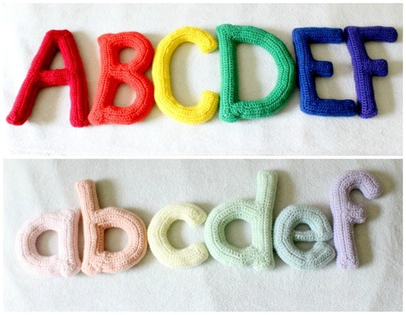 soft letters alphabet toy nursery decor With soft alphabet letters