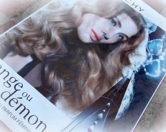 Large Givenchy Perfume Bus Stop Poster, Ange ou Démon, Collectable, Memorabilia