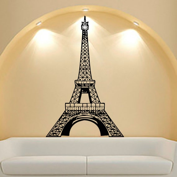 Eiffel Tower Wall Decals Vinyl Decal Sticker Bedroom By