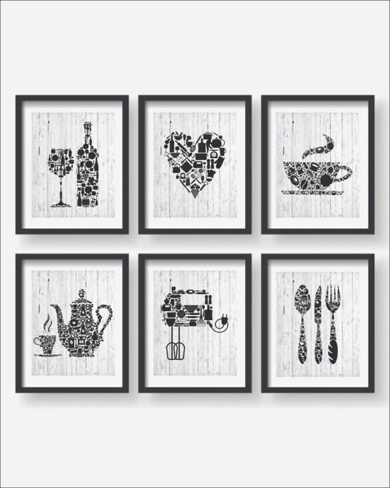 6 set kitchen collections decor kitchen poster set kitchen disney kitchen decor kitchen collections