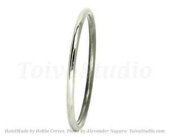 Simple Platinum wedding band-Platinum wedding band ring