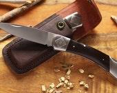 Great Father's Day Gift Knife - Large Engraved Groomsmen Knife - Groomsmen Personalized Knife - Large Lockback Knife - Large Folder Knife