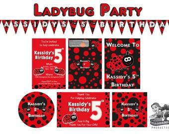 Ladybug Birthday Decorations