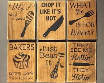Https Www Etsy Com Ca Listing 248533983 One Sign Fun Kitchen Wall Decor Kitchen Ref Shop Home Active 1