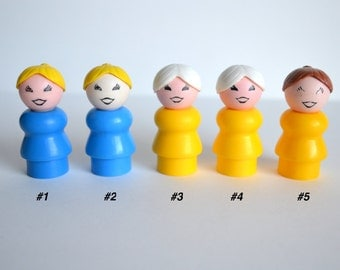 1970's Fisher Price Little People Figures