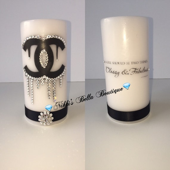 Items similar to Chanel candle on Etsy