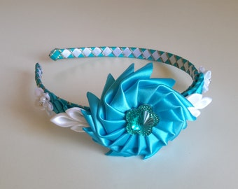 Turquoise headband, Girls headband, accesories,Girl accesories, hard headband