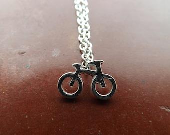 Bike necklace.