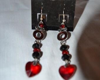 Hearts of Fire earrings