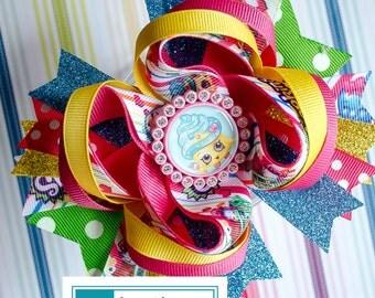 Shopkins Cupcake Queen Bow