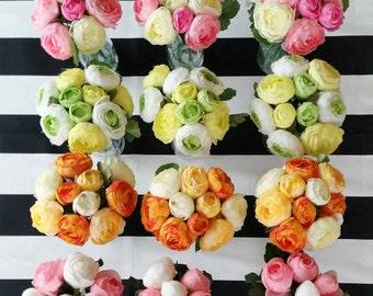Wedding set of 12 flower  arrangements* Bridal Party* ON SALE NOW*