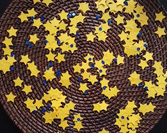 Star Confetti, Star Table Scatter, Party Decor, New Years