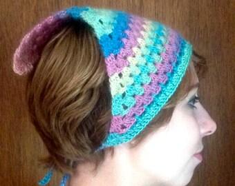 Crocheted Breezy Kerchief