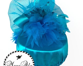 Turquoise Party Hat