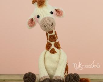 Crochet Pattern-Girafje Romy