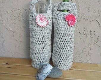 Crochet Market Bag Farmers Market Tote by KingStitchStudios