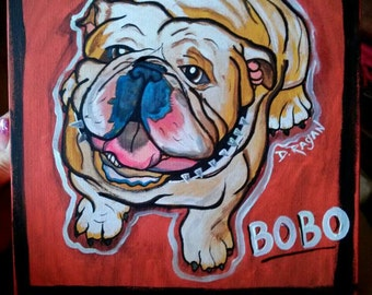 Custom Dog Painting